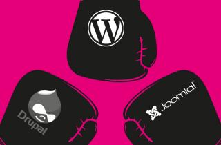 drupal vs wordpress vs joomla